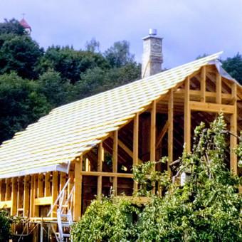 Senu mediniu namu renovacija,rekonstrukcija / Aivaras / Darbų pavyzdys ID 513243