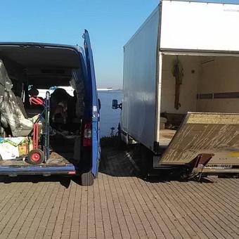 Perkraustymo paslaugos,krovinių pervežimas iki 2t / Vidas / Darbų pavyzdys ID 513927