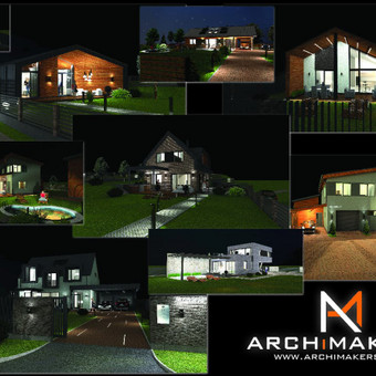 ARCHiMAKERS - Profesionalios projektavimo paslaugos. / ARCHiMAKERS / Darbų pavyzdys ID 514457