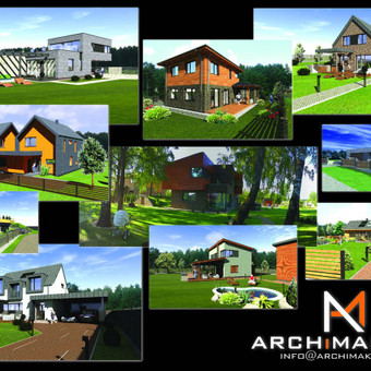 ARCHiMAKERS - Profesionalios projektavimo paslaugos. / ARCHiMAKERS / Darbų pavyzdys ID 514459