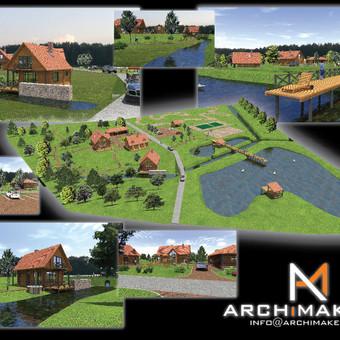ARCHiMAKERS - Profesionalios projektavimo paslaugos. / ARCHiMAKERS / Darbų pavyzdys ID 514461