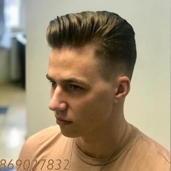 Vyriški kirpimai,barzdų modeliavimas,skutimas. / Loreta / Darbų pavyzdys ID 515029