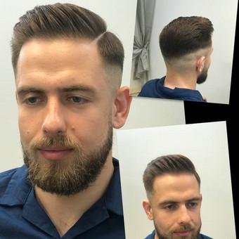 Vyriski kirpimai ir barzdu modeliavimas,skutimas / Loreta / Darbų pavyzdys ID 515031