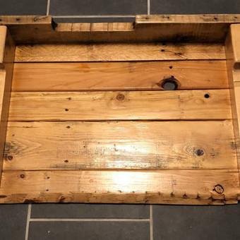 Šunų būdos, medinės dėžės, smėlio dėžės, baldai vaikų kambar / Raimondas / Darbų pavyzdys ID 516191