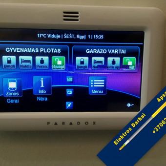 Varžų matavimai, elektros darbai,apsaugos sistemos / Vilmantas Kutka / Darbų pavyzdys ID 73733