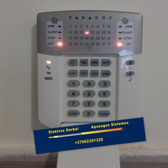 Varžų matavimai, elektros darbai,apsaugos sistemos / Vilmantas Kutka / Darbų pavyzdys ID 73735