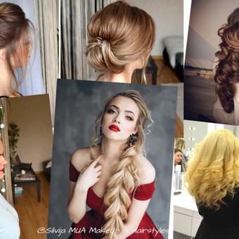 """""""Silvija MUA Make Up & Hairstyles""""  - MAKIAŽAI ir ŠUKUOSENOS / Silvija / Darbų pavyzdys ID 517807"""