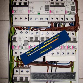 Varžų matavimai, elektros darbai,apsaugos sistemos / Vilmantas Kutka / Darbų pavyzdys ID 73748