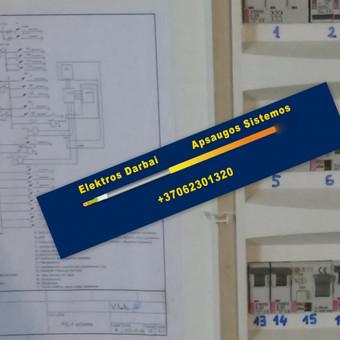 Varžų matavimai, elektros darbai,apsaugos sistemos / Vilmantas Kutka / Darbų pavyzdys ID 73789