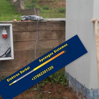 Varžų matavimai, elektros darbai,apsaugos sistemos / Vilmantas Kutka / Darbų pavyzdys ID 73792