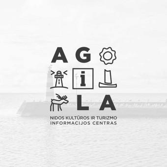 Logotipas Neringos turizmo ir informacijos centrui AGILA
