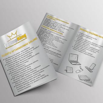 Grafikos dizainerė - maketuotoja / Greta / Darbų pavyzdys ID 519117