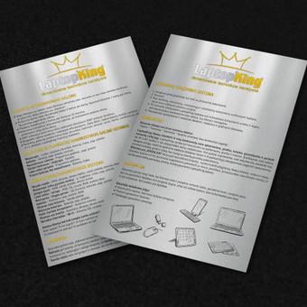 Grafikos dizainerė - maketuotoja / Greta / Darbų pavyzdys ID 519121