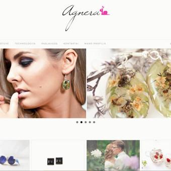 Interneto svetanių ir el.parduotuvių kūrimas ir priežiūra / Lina Va / Darbų pavyzdys ID 519683