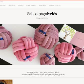 Interneto svetanių ir el.parduotuvių kūrimas ir priežiūra / Lina Va / Darbų pavyzdys ID 519687