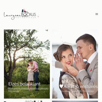 Interneto svetanių ir el.parduotuvių kūrimas ir priežiūra / Lina Va / Darbų pavyzdys ID 519689
