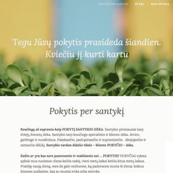Interneto svetanių ir el.parduotuvių kūrimas ir priežiūra / Lina Va / Darbų pavyzdys ID 519691