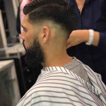 Vyriški kirpimai,barzdų modeliavimas,skutimas. / Loreta / Darbų pavyzdys ID 519813