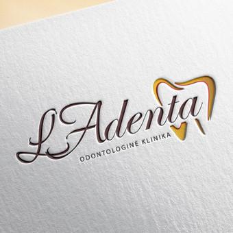 """""""LA denta"""" logotipas"""