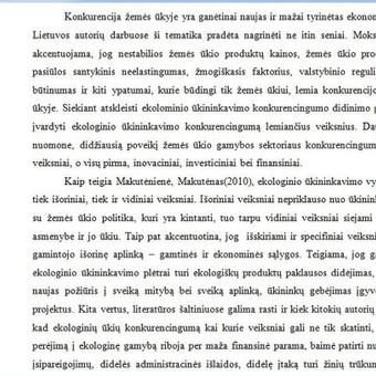 Ištrauka iš projekto// ekologinio ūkininkavimo plėtra, konkurencingumo didinimo priemonės