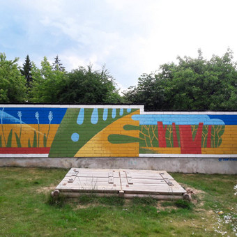 Sienų tapyba, graffiti, iliustracijos, dekoras, paveikslai / Vytautas Stakutis / Darbų pavyzdys ID 522837