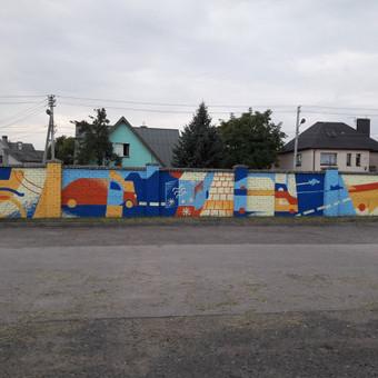 Sienų tapyba, graffiti, iliustracijos, dekoras, paveikslai / Vytautas Stakutis / Darbų pavyzdys ID 522839
