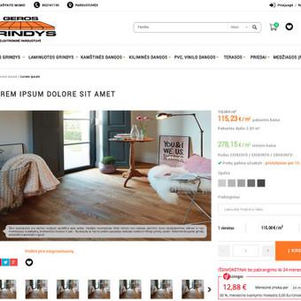 Interneto svetainių ir el. parduotuvių kūrimas / ADISOFT / Darbų pavyzdys ID 522901