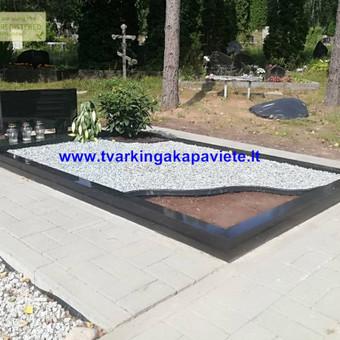 Paminklų, antkapių gamyba, kapų tvarkymo paslaugos / TVARKINGA KAPAVIETĖ / Darbų pavyzdys ID 524727