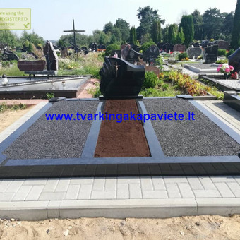 Paminklų, antkapių gamyba, kapų tvarkymo paslaugos / TVARKINGA KAPAVIETĖ / Darbų pavyzdys ID 524729