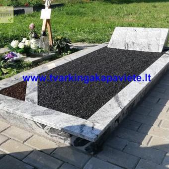Paminklų, antkapių gamyba, kapų tvarkymo paslaugos / TVARKINGA KAPAVIETĖ / Darbų pavyzdys ID 524735