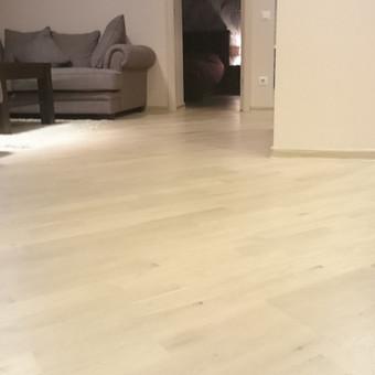 Parketo grindų įrengimas