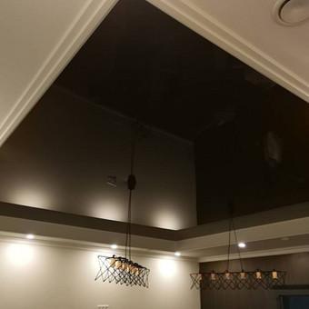 Atliekame įtempiamų lubų montavimo darbus / tomas / Darbų pavyzdys ID 524873