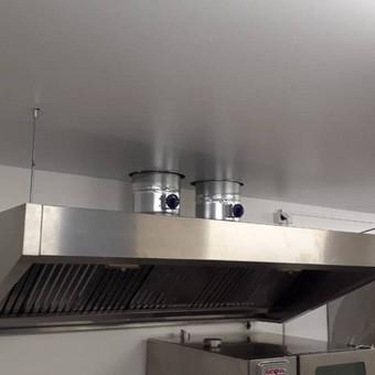 Atliekame įtempiamų lubų montavimo darbus / tomas / Darbų pavyzdys ID 524879