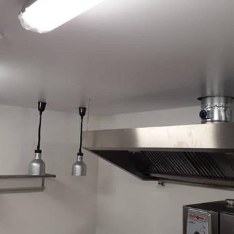 Atliekame įtempiamų lubų montavimo darbus / tomas / Darbų pavyzdys ID 524881