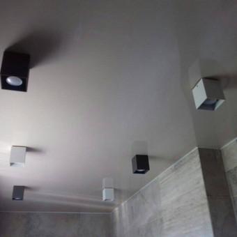 Atliekame įtempiamų lubų montavimo darbus / tomas / Darbų pavyzdys ID 524889