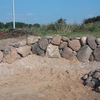 Akmens mūro darbai, Šlaitų ir pakrančių tvirtinimas.Atramine / Saulius / Darbų pavyzdys ID 526837