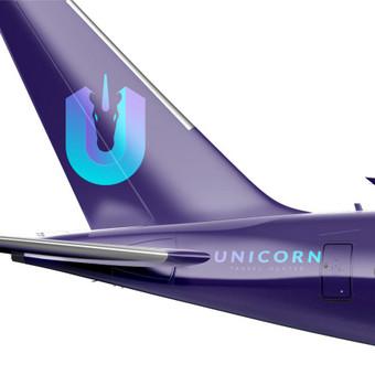 UNICORN - Travel Hunter   Logotipų kūrimas - www.glogo.eu - logo creation.