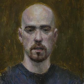 Autoportretas tapytas iš veidrodžio atspindžio