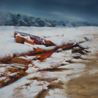 Volcanic winter. 100 x 80 cm. al. dr.