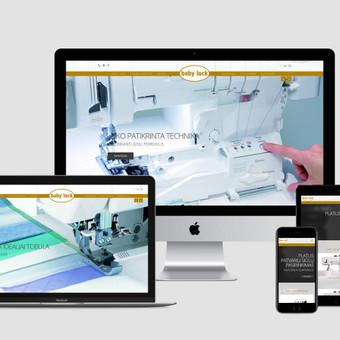 Internetinių svetainių, el. parduotuvių kūrimas, SEO / Bona Solutions, UAB / Darbų pavyzdys ID 527551