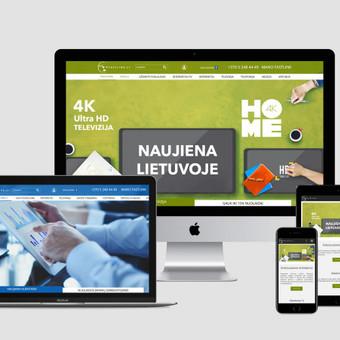 Internetinių svetainių, el. parduotuvių kūrimas, SEO / Bona Solutions, UAB / Darbų pavyzdys ID 527557