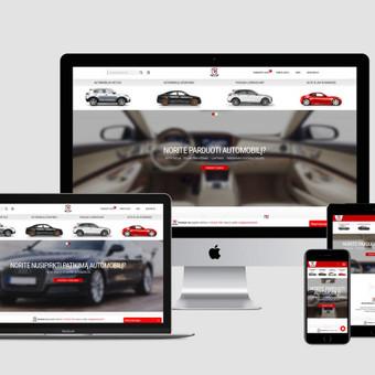 Internetinių svetainių, el. parduotuvių kūrimas, SEO / Bona Solutions, UAB / Darbų pavyzdys ID 527569