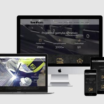 Internetinių svetainių, el. parduotuvių kūrimas, SEO / Bona Solutions, UAB / Darbų pavyzdys ID 527571