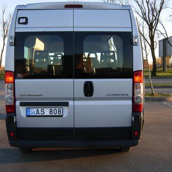 Keleiviu kroviniu pervezimas / Rimas / Darbų pavyzdys ID 74565
