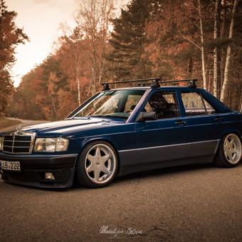 Mercedes-benz 190 Meninė Fotosesija