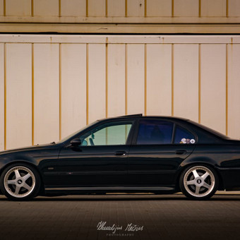 BMW 5 series Meninė Fotosesija