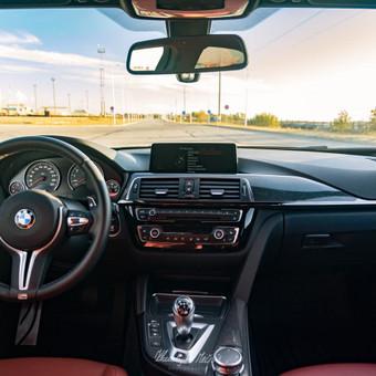 BMW M3 Komenrinė Fotosesija