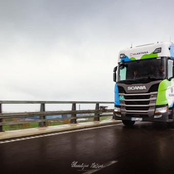 Scania Komercinė Fotosesija