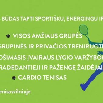 Lauko teniso treniruotės Vilniuje / Ignas Kubilius / Darbų pavyzdys ID 528411
