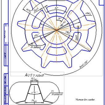 Konstruktorius mechanikos inžinierius / Gytis Da / Darbų pavyzdys ID 529011